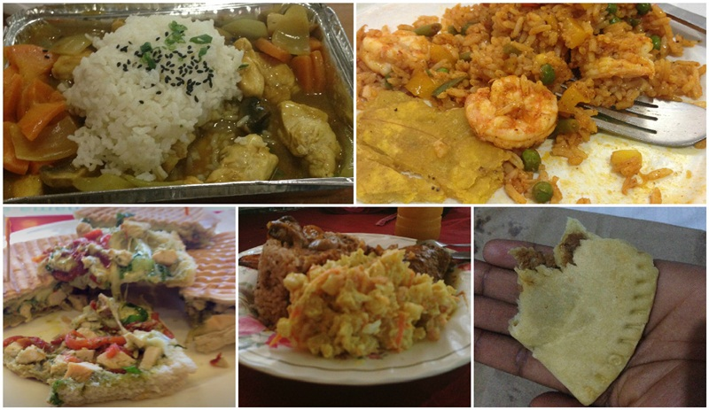 panama city travel - food